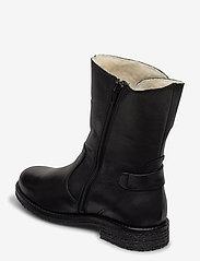 Bianco - BIAATALIA Winter Zipper Boot - flade ankelstøvler - black - 2
