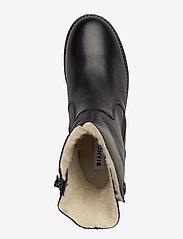 Bianco - BIAATALIA Winter Zipper Boot - flade ankelstøvler - black - 3
