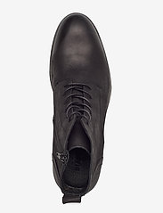 Bianco - BIABYRON Leather Lace Up Boot - veter schoenen - black - 3