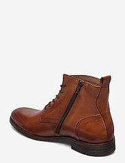 Bianco - BIABYRON Leather Lace Up Boot - veter schoenen - brandy - 2