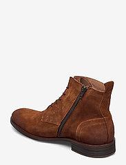 Bianco - BIABYRON Leather Lace Up Boot - veter schoenen - cognac 1 - 2