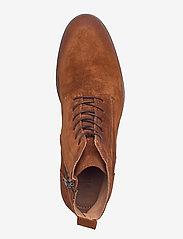 Bianco - BIABYRON Leather Lace Up Boot - veter schoenen - cognac 1 - 3