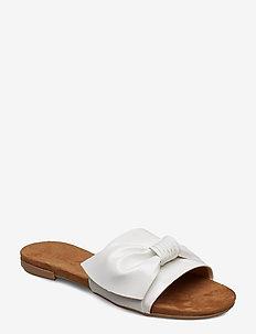 BIABONNIE Assym. Bow Slide - sandales - white 3
