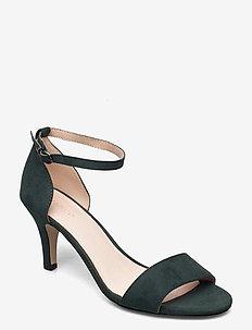 BIAADORE Basic Sandal - korolliset sandaalit - dark green 1