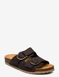BIABETRICIA Leather Sandal - dark brown 2