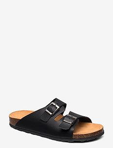 BIABETRICIA Buckle Sandal - black