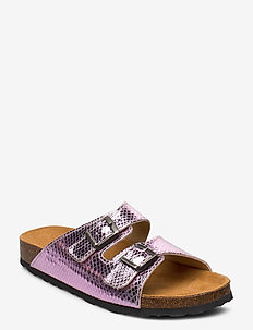 BIABETRICIA Buckle Sandal - pink snake