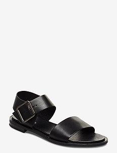 BIADARLA Leather Sandal - BLACK