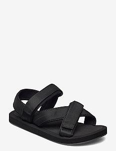 BIADENI Sandal - platte sandalen - black