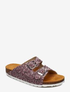 Glitter Bio Sandal - matalat sandaalit - light pink 5
