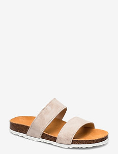 Twin Strap Slip In - beige