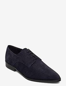 BIABRENDA Suede Cord Derby - schnürschuhe - navy blue 1