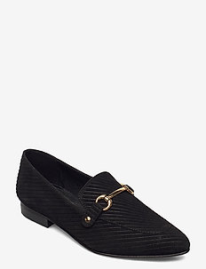 BIABRENDA Suede Loafer - instappers - black 1