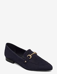 BIABRENDA Suede Loafer - loafers - navy blue 1