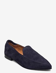 BIATRACY Leather Loafer - instappers - navy blue 1