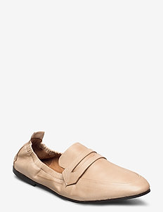 BIASTORY Leather Loafer - loafers - natural