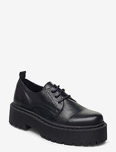 BIADEB Laced Shoe - buty sznurowane - black