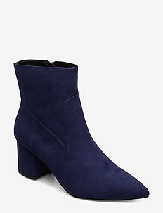 Pointy Ankle Boot - NAVY BLUE 1