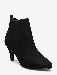 BIANUR V-Split Chelsea Boot - BLACK 1