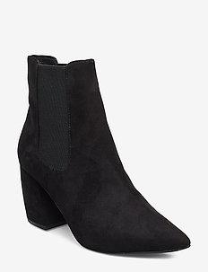 BIACANDY Flared Boot - ankelstøvler med hæl - black 1