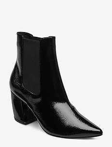 BIACANDY Flared Boot - ankle boots with heel - black 3