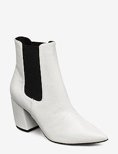 BIACANDY Flared Boot - hoge hakken - white 3