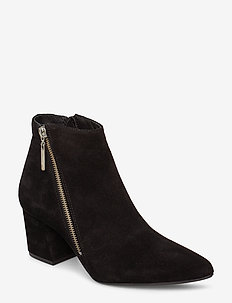 BIACALAIS Suede Ankle Boot - BLACK 1