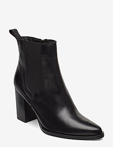 BIAJUDIA Leather Boot - BLACK