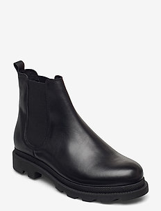 BIACYAN Leather Chelsea Boot - chelsea boots - black