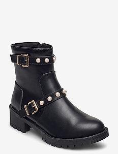 BIAPEARL Fashion Boot - ankelstøvler med hæl - black