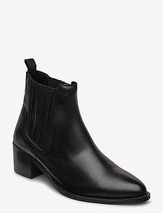 BIACAROL Chelsea Boot - ankelstøvler med hæl - black