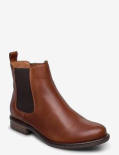 BIADANELLE Chelsea Boot - bottes chelsea - cognac