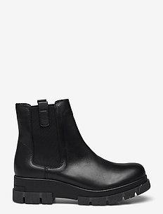 BIADEVINA Short Chelsea Boot - chelsea støvler - black 6