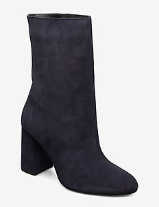 BIACANDICE Suede Tube Boot - NAVY BLUE 1
