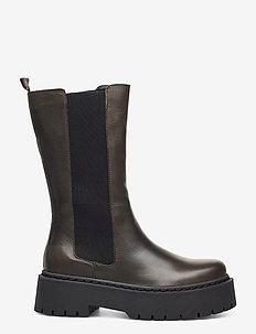 BIADEB Long Boot - chelsea støvler - khaki