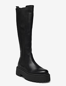BIADEB Extra Long Boot - höga stövlar - black