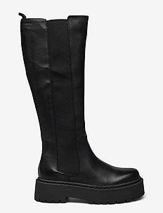 BIADEB Extra Long Boot - langskaftede - black