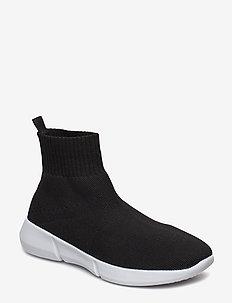BIACASEY Knit Hightop - BLACK 4