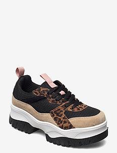 BIACOLLEEN Chunky Sneaker - lage sneakers - black 6