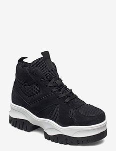 BIACOLLEEN Chunky Hightop - hoge sneakers - black 1