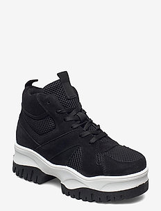 BIACOLLEEN Chunky Hightop - baskets montantes - black 1
