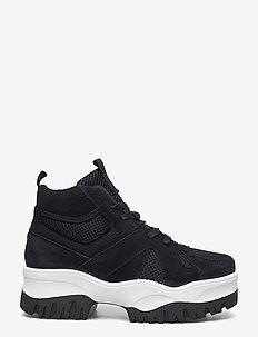 BIACOLLEEN Chunky Hightop - chunky sneakers - black 1