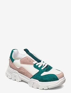 BIACANARY Suede Sneaker - chunky sneakers - mint 1