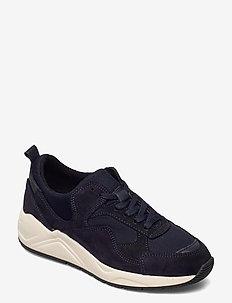 BIADAKOTA Suede Sneaker - lage sneakers - navy blue 1