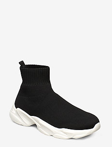 BIACASE Hightop Sock Sneaker - BLACK 4