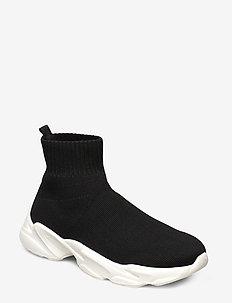 BIACASE Hightop Sock Sneaker - black 4