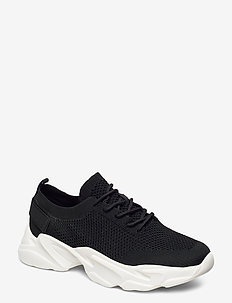BIACASE Laced Knit Sneaker - BLACK 4