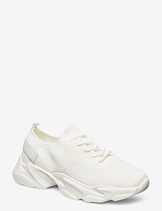 BIACASE Laced Knit Sneaker - WHITE 4