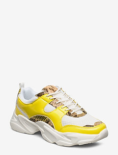 BIACASE Sneaker - baskets épaisses - yellow