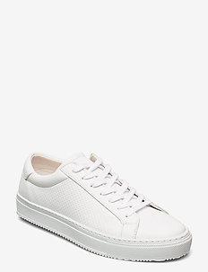 BIADIA Vegan Per. Sneaker - niedrige sneakers - white